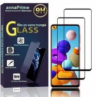 """Samsung Galaxy A21S 6.5"""" SM-A217F A217F/DS A217F/DSN A217M A217N (non compatible Galaxy A21): Lot / Pack de 2 Films de protection d'écran Verre Trempé"""