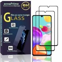 """Samsung Galaxy A41 6.1"""" SM-A415F A415F/DSN A415F/DSM [Les Dimensions EXACTES du telephone: 149.9 x 69.8 x 7.9 mm]: Lot / Pack de 2 Films de protection d'écran Verre Trempé"""