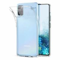 "Samsung Galaxy S20/ S20 5G 6.2"" SM-G980 G980F (non compatible Galaxy S20+ Plus 6.7""/ S20 Ultra 6.9""): Coque Silicone gel UltraSlim et Ajustement parfait - TRANSPARENT"