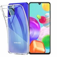 """Samsung Galaxy A41 6.1"""" SM-A415F A415F/DSN A415F/DSM [Les Dimensions EXACTES du telephone: 149.9 x 69.8 x 7.9 mm]: Coque Silicone gel UltraSlim et Ajustement parfait - TRANSPARENT"""