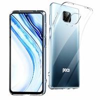 "Xiaomi Poco M2 Pro 6.67"" M2003J6CI [Les Dimensions EXACTES du telephone: 165.8 x 76.7 x 8.8 mm]: Coque Silicone gel UltraSlim et Ajustement parfait - TRANSPARENT"