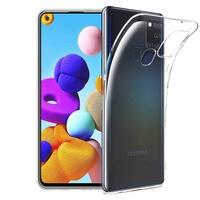 """Samsung Galaxy A21S 6.5"""" SM-A217F A217F/DS A217F/DSN A217M A217N (non compatible Galaxy A21): Coque Silicone gel UltraSlim et Ajustement parfait - TRANSPARENT"""