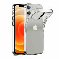 """Apple iPhone 12 mini 5.4"""" A2399 A2176 A2398 A2400 (non compatible iPhone 12 6.1""""): Coque Silicone gel UltraSlim et Ajustement parfait - TRANSPARENT"""