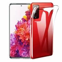 "Samsung Galaxy S20 FE/ S20 FE 4G/ S20 FE 5G/ S20 Fan Edition/ S20 Lite 6.5"" SM-G780F G780F/DSM G781B (non compatible Galaxy S20 6.2""): Coque Silicone gel UltraSlim et Ajustement parfait - TRANSPARENT"