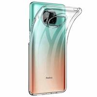 """Xiaomi Redmi Note 9 Pro 5G 6.67"""" M2007J17C (non compatible Xiaomi Redmi Note 9/ Note 9 Pro): Coque Silicone gel UltraSlim et Ajustement parfait - TRANSPARENT"""