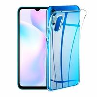 "Xiaomi Redmi 9A 6.53"" M2006C3LG (non compatible Xiaomi Redmi 9/ 9C) [Les Dimensions EXACTES du telephone: 164.9 x 77.1 x 9 mm]: Coque Silicone gel UltraSlim et Ajustement parfait - TRANSPARENT"