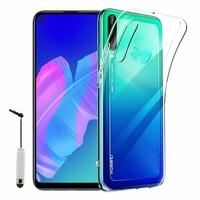 """Huawei P40 Lite E/ Huawei Y7p/ Honor 9C 6.39"""" ART-L28 ART-L29 ART-L29N AKA-L29 (non compatible Huawei P40 Lite 6.4""""): Coque Silicone gel UltraSlim et Ajustement parfait + mini Stylet - TRANSPARENT"""