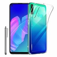 """Huawei P40 Lite E/ Huawei Y7p/ Honor 9C 6.39"""" ART-L28 ART-L29 ART-L29N AKA-L29 (non compatible Huawei P40 Lite 6.4""""): Coque Silicone gel UltraSlim et Ajustement parfait + Stylet - TRANSPARENT"""