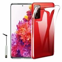"Samsung Galaxy S20 FE/ S20 FE 4G/ S20 FE 5G/ S20 Fan Edition/ S20 Lite 6.5"" SM-G780F G780F/DSM G781B (non compatible Galaxy S20 6.2""): Coque Silicone gel UltraSlim et Ajustement parfait + mini Stylet - TRANSPARENT"