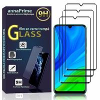 """Huawei P Smart 2020 6.21"""" POT-LX1A/ POT-LX3 (non compatible Huawei P smart 5.65"""" (2017)): Lot / Pack de 3 Films de protection d'écran Verre Trempé"""