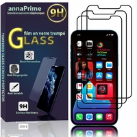 """Apple iPhone 12 Pro 6.1"""" A2407 A2341 A2406 A2408 (non compatible iPhone 12 Pro Max 6.7""""): Lot / Pack de 3 Films de protection d'écran Verre Trempé"""