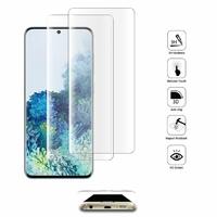 """Samsung Galaxy S20/ S20 5G 6.2"""" SM-G980 G980F (non compatible Galaxy S20+ Plus 6.7""""/ S20 Ultra 6.9""""): Lot/ Pack de 2 Films en Verre Trempé Bord Incurvé Resistant"""