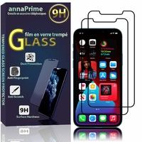 """Apple iPhone 12 Pro Max 6.7"""" A2411 A2342 A2410 A2412 (non compatible iPhone 12 Pro 6.1""""): Lot / Pack de 2 Films de protection d'écran Verre Trempé"""