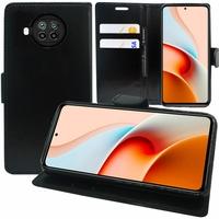 """Xiaomi Redmi Note 9 Pro 5G 6.67"""" M2007J17C (non compatible Xiaomi Redmi Note 9/ Note 9 Pro): Etui portefeuille Support Video cuir PU - NOIR"""