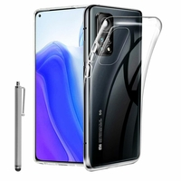 """Xiaomi Mi 10T 5G/ 10T Pro 5G 6.67"""" M2007J3SY M2007J3SG MZB07ZCIN MZB07ZDIN MZB07Z7IN (non compatible Xiaomi Mi 10 5G/ Mi 10 Pro 5G): Coque Silicone gel UltraSlim et Ajustement parfait + Stylet - TRANSPARENT"""