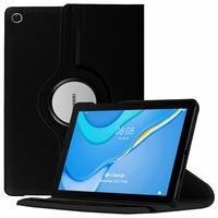 "Huawei MatePad T10S/ T 10s/ T10 10.1"" AGS3-L09 AGS3-W09 [Les Dimensions EXACTES du Tablette: 240.2 x 159 x 7.9 mm]: Etui Cuir PU Support Rotatif 360° - NOIR"
