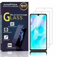 """Huawei P30 Lite New Edition/ P30 Lite 2020 6.15"""" MAR-L21BX (non compatible Huawei P30/ P30 Pro): Lot / Pack de 2 Films de protection d'écran Verre Trempé"""