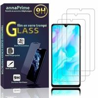 """Huawei P30 Lite New Edition/ P30 Lite 2020 6.15"""" MAR-L21BX (non compatible Huawei P30/ P30 Pro): Lot / Pack de 3 Films de protection d'écran Verre Trempé"""