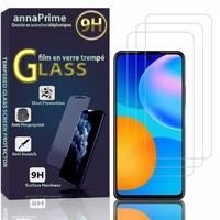 """Huawei P Smart 2021 6.67"""" PPA-LX2 PPA-L02B PPA-L22B (non compatible Huawei P Smart 2020): Lot / Pack de 3 Films de protection d'écran Verre Trempé"""