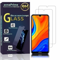 "Huawei Y6S (2019)/ Honor 8A 2020/ 8A Prime 6.09"" JAT-LX3 JAT-L29 JAT-LX1 JAT-L41[Les Dimensions EXACTES du telephone: 156.3 x 73.5 x 8 mm]: Lot / Pack de 2 Films de protection d'écran Verre Trempé"
