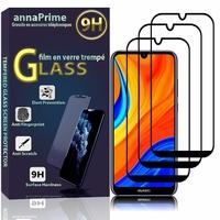 "Huawei Y6S (2019)/ Honor 8A 2020/ 8A Prime 6.09"" JAT-LX3 JAT-L29 JAT-LX1 JAT-L41[Les Dimensions EXACTES du telephone: 156.3 x 73.5 x 8 mm]: Lot / Pack de 3 Films de protection d'écran Verre Trempé"