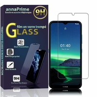 "Nokia 1.4 6.52"" [Les Dimensions EXACTES du telephone: 166.4 x 76.7 x 8.7 mm]: 1 Film de protection d'écran Verre Trempé"