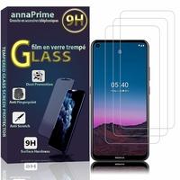 """Nokia 5.4 6.39"""" TA-1333 TA-1340 TA-1337 TA-1328 TA-1325 [Les Dimensions EXACTES du telephone: 161 x 76 x 8.7 mm]: Lot / Pack de 3 Films de protection d'écran Verre Trempé"""