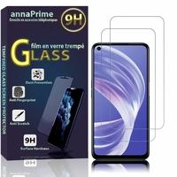 """Oppo A73 5G 6.5"""" CPH2161 (non compatible Oppo A73 4G 6.44"""") [Les Dimensions EXACTES du telephone: 162.2 x 75 x 7.9 mm]: Lot / Pack de 2 Films de protection d'écran Verre Trempé"""