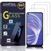 """Oppo A73 5G 6.5"""" CPH2161 (non compatible Oppo A73 4G 6.44"""") [Les Dimensions EXACTES du telephone: 162.2 x 75 x 7.9 mm]: Lot / Pack de 3 Films de protection d'écran Verre Trempé"""