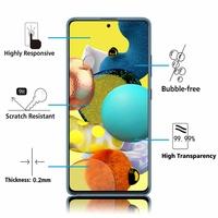 """Samsung Galaxy A51 5G UW 6.5"""" SM-A516V (non compatible Galaxy A51 2019) [Les Dimensions EXACTES du telephone: 158.8 x 73.4 x 8.6 mm]: 1 Film de protection d'écran Verre Trempé"""