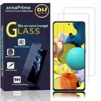 """Samsung Galaxy A51 5G UW 6.5"""" SM-A516V (non compatible Galaxy A51 2019) [Les Dimensions EXACTES du telephone: 158.8 x 73.4 x 8.6 mm]: Lot / Pack de 2 Films de protection d'écran Verre Trempé"""