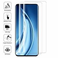 """Xiaomi Mi 10S 6.67"""" M2102J2SC [Les Dimensions EXACTES du telephone: 162.6 x 74.8 x 9 mm]: Lot/ Pack de 2 Films en Verre Trempé Bord Incurvé Resistant"""