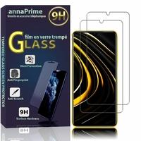 "Xiaomi Poco M3 6.53"" M2010J19CG M2010J19CT [Les Dimensions EXACTES du telephone: 162.3 x 77.3 x 9.6 mm]: Lot / Pack de 2 Films de protection d'écran Verre Trempé"