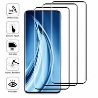 """Xiaomi Mi 10S 6.67"""" M2102J2SC [Les Dimensions EXACTES du telephone: 162.6 x 74.8 x 9 mm]: Lot/ Pack de 3 Films en Verre Trempé Bord Incurvé Resistant"""
