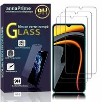 """Xiaomi Poco C3 6.43"""" M2006C3MII MZB07RIIN MZB07RJIN MZB07QAIN MZB07RLIN MZB07RKIN MZB07RHIN: Lot / Pack de 3 Films de protection d'écran Verre Trempé"""