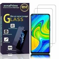 "Xiaomi Redmi 10X 4G 6.53"" M2003J15SC M2004J7AC (non compatible Xiaomi Redmi 10X 5G 6.57"") [Les Dimensions EXACTES du telephone: 162.3 x 77.2 x 8.9 mm]: Lot / Pack de 2 Films de protection d'écran Verre Trempé"