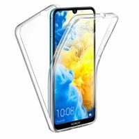 """Honor 8S 2020 5.71"""" KSA-LX9 [Les Dimensions EXACTES du telephone: 147.1 x 70.8 x 8.5 mm]: Coque Avant et Arrière Silicone 360° protection intégrale  - TRANSPARENT"""