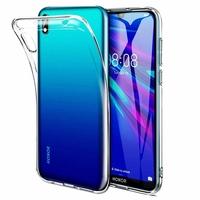 """Honor 8S 2020 5.71"""" KSA-LX9 [Les Dimensions EXACTES du telephone: 147.1 x 70.8 x 8.5 mm]: Coque Silicone gel UltraSlim et Ajustement parfait - TRANSPARENT"""