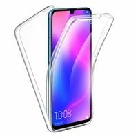 """Huawei P30 Pro New Edition/ P30 Pro 2020 6.47"""" VOG-L29 (non compatible Huawei P30/ P30 Lite): Coque Avant et Arrière Silicone 360° protection intégrale  - TRANSPARENT"""