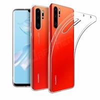 """Huawei P30 Pro New Edition/ P30 Pro 2020 6.47"""" VOG-L29 (non compatible Huawei P30/ P30 Lite): Coque Silicone gel UltraSlim et Ajustement parfait - TRANSPARENT"""