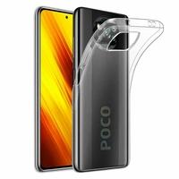 """Xiaomi Poco X3 NFC/ Poco X3 6.67"""" M2007J20CG M2007J20CT MZB07Z0IN MZB07Z1IN MZB07Z2IN MZB07Z3IN MZB07Z4IN MZB9965IN M2007J20CI: Coque Silicone gel UltraSlim et Ajustement parfait - TRANSPARENT"""