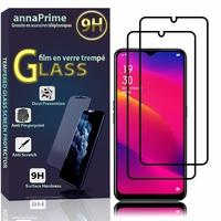 """Oppo A11 6.5"""" PCHM10, PCHT10 [Les Dimensions EXACTES du telephone: 163.6 x 75.6 x 9.1 mm]: Lot / Pack de 2 Films de protection d'écran Verre Trempé"""