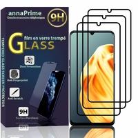 "Oppo A91/ Oppo F15/ Oppo Reno3 4G 6.4"" CPH2001 CPH2021 PCPM00 CPH2043 (non compatible Oppo Reno 3 5G) [Les Dimensions EXACTES du telephone: 160.2 x 73.3 x 7.9 mm]: Lot / Pack de 3 Films de protection d'écran Verre Trempé"