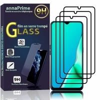 "Oppo A9 (2020)/ Oppo A11X 6.5"" CPH1937 CPH1939 CPH1941 PCHM30 PCHT30 (non compatible Oppo A9 2019 6.53""): Lot / Pack de 3 Films de protection d'écran Verre Trempé"