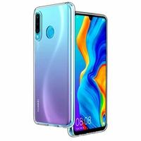 """Huawei P30 Lite New Edition/ P30 Lite 2020 6.15"""" MAR-L21BX (non compatible Huawei P30/ P30 Pro): Coque Silicone gel UltraSlim et Ajustement parfait - TRANSPARENT"""