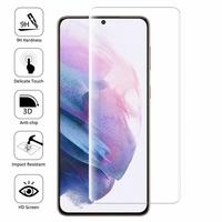"Samsung Galaxy S21+ 5G/ S21 Plus 5G 6.7"" SM-G996B G996B/DS (non compatible Galaxy S21 5G 6.2""/ S21 Ultra 5G 6.8""): 1 Film en Verre Trempé Bord Incurvé Resistant"