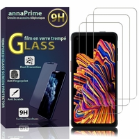 """Samsung Galaxy Xcover Pro 6.3"""" SM-G715FN/DS G715FN G715F G715W G715U G715U1: Lot / Pack de 3 Films de protection d'écran Verre Trempé"""