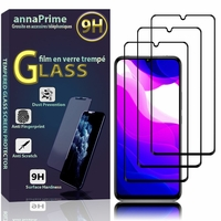"""Xiaomi Mi 10 Lite 5G/ Mi 10 Youth 5G 6.57"""" M2002J9G M2002J9E (non compatible Xiaomi Mi Note 10 Lite 6.47""""/ Mi 10T Lite 5G 6.67""""): Lot / Pack de 3 Films de protection d'écran Verre Trempé"""