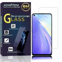 "Realme 6/ 6S/ 6i (India)/ Realme Narzo 6.5"" RMX2001 RMX2002 (non compatible Realme 6 Pro/ Realme 6i (Global)): 1 Film de protection d'écran Verre Trempé"