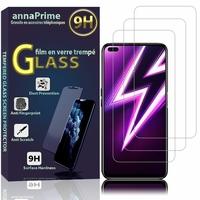 """Realme 6 Pro 6.6"""" RMX2061 RMX2063 (non compatible Realme 6/ Realme 6i): Lot / Pack de 3 Films de protection d'écran Verre Trempé"""